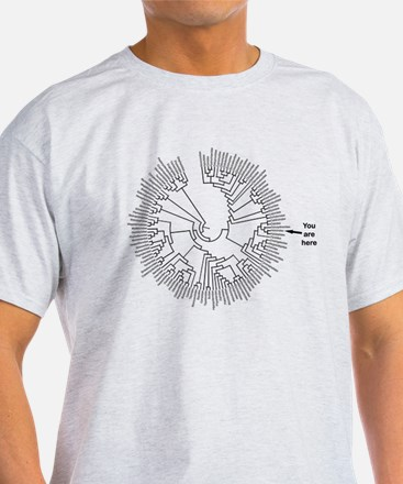 You Are Here #1 T-Shirt