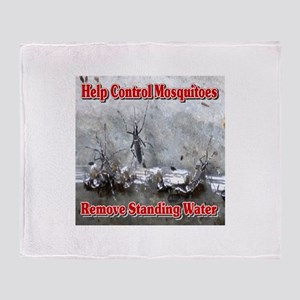 Help Control Mosquitoes Remove Stand Throw Blanket