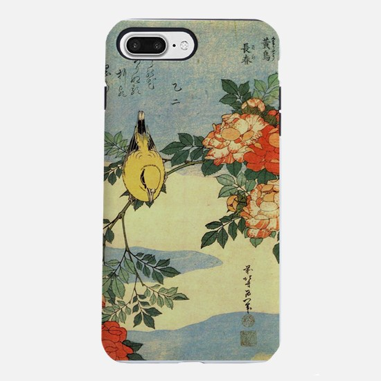 bird-flowers.p2.jpg iPhone 7 Plus Tough Case