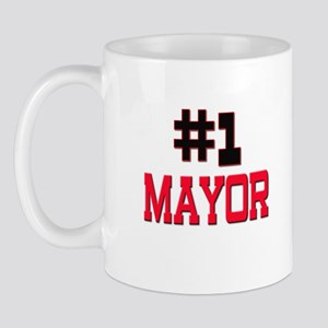 Number 1 MAYOR Mug