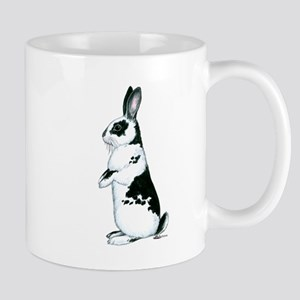Black and White Rabbit Mug