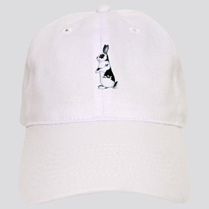 Black and White Rabbit Cap