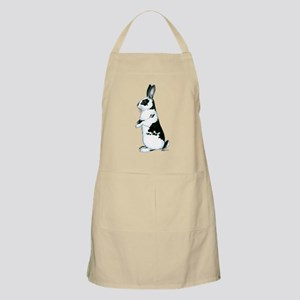 Black and White Rabbit BBQ Apron