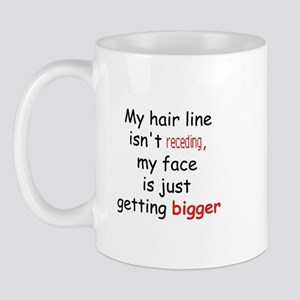 hair loss humor Mug