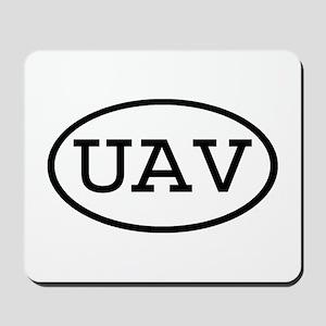 UAV Oval Mousepad