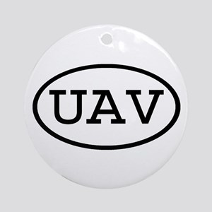 UAV Oval Ornament (Round)