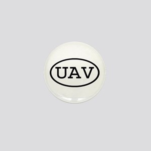 UAV Oval Mini Button