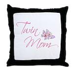 Twin Mom Throw Pillow