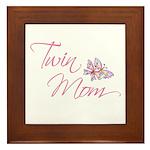 Twin Mom Framed Tile