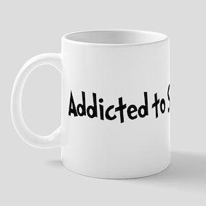 Addicted to Snowmobiling Mug