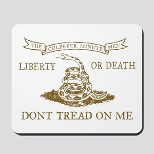 Culpeper Flag (Brown) Mousepad