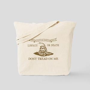 Culpeper Flag (Brown) Tote Bag