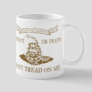 Culpeper Flag (Brown) Mug