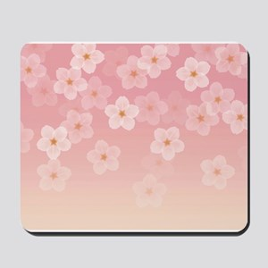 Japanese Cherry Blossom Mousepad