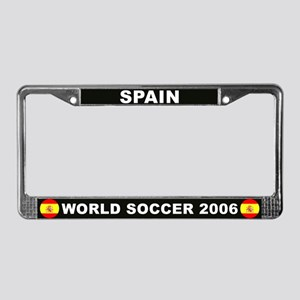 Spain World Cup 2006 Soccer License Plate Frame