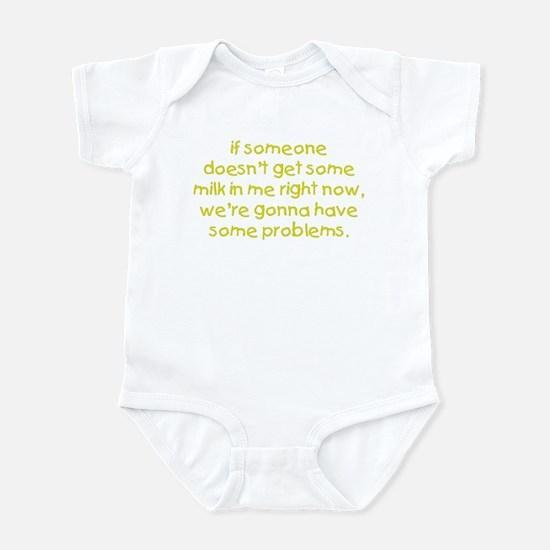 Get Me Milk Infant Bodysuit