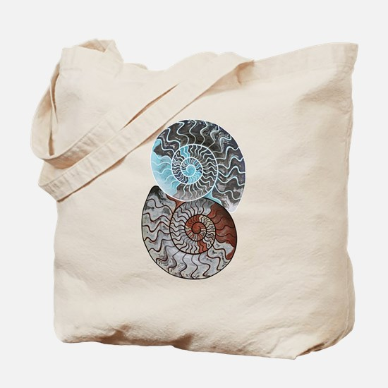 Cute Fossils Tote Bag