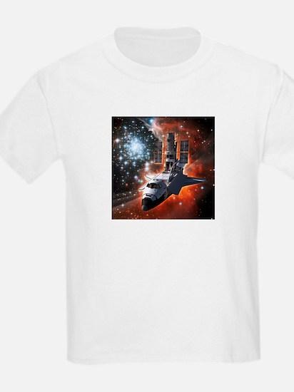 Hubble Service Mission 4 T-Shirt