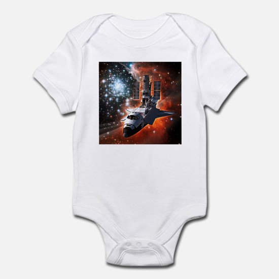 Hubble Service Mission 4 Infant Bodysuit