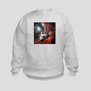 Hubble Service Mission 4 Kids Sweatshirt