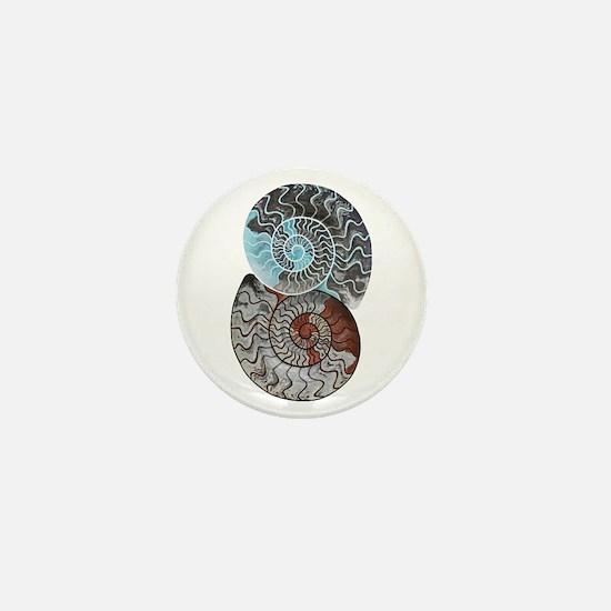 Cute Fossil Mini Button
