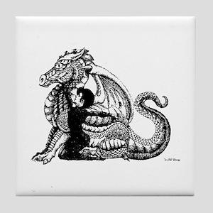 Dragon Mage Tile Coaster