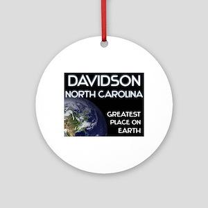 davidson north carolina - greatest place on earth