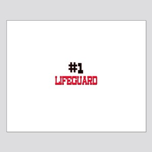 Number 1 LIFEGUARD Small Poster
