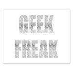 Geek Freak! Small Poster
