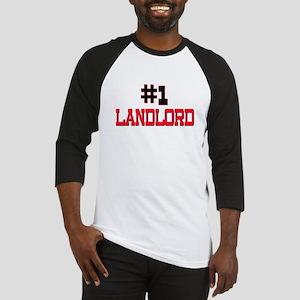 Number 1 LANDLORD Baseball Jersey