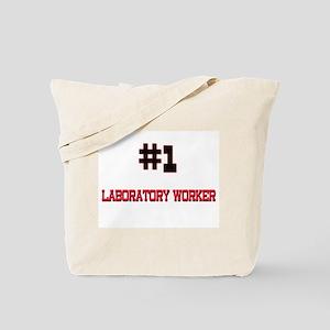 Number 1 LABORATORY WORKER Tote Bag