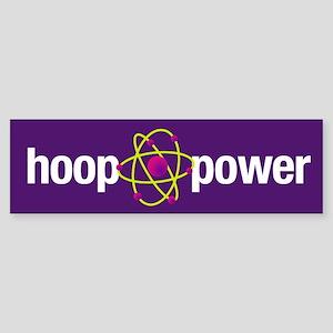 Hoop Power Bumper Sticker
