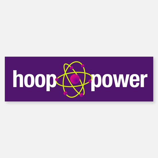 Hoop Power Bumper Bumper Bumper Sticker