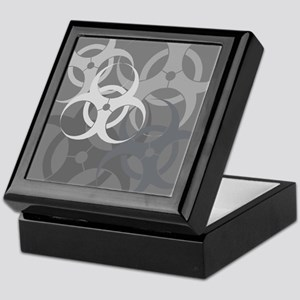 Grey Biohazard Keepsake Box