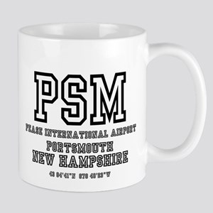 AIRPORT CODES - PSM - PEASE INTERNATIONAL, PO Mugs