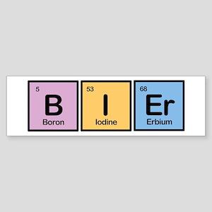 Bier made of Elements Bumper Sticker