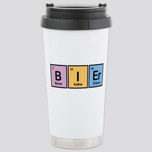 Bier made of Elements Stainless Steel Travel Mug