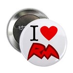 """I Love RM 2.25"""" Button (100 pack)"""