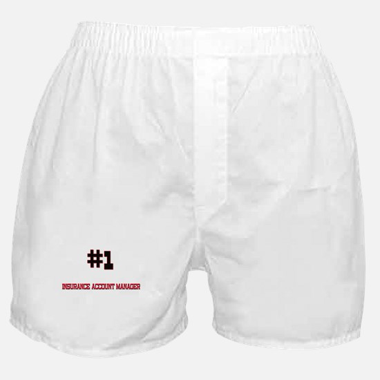 Number 1 INSURANCE ACCOUNT MANAGER Boxer Shorts