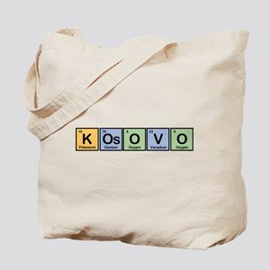 Kosovo made of Elements Tote Bag
