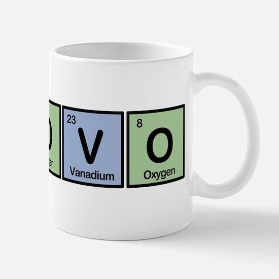 Kosovo made of Elements Mug