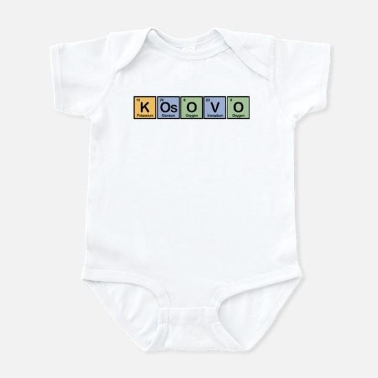 Kosovo made of Elements Infant Bodysuit