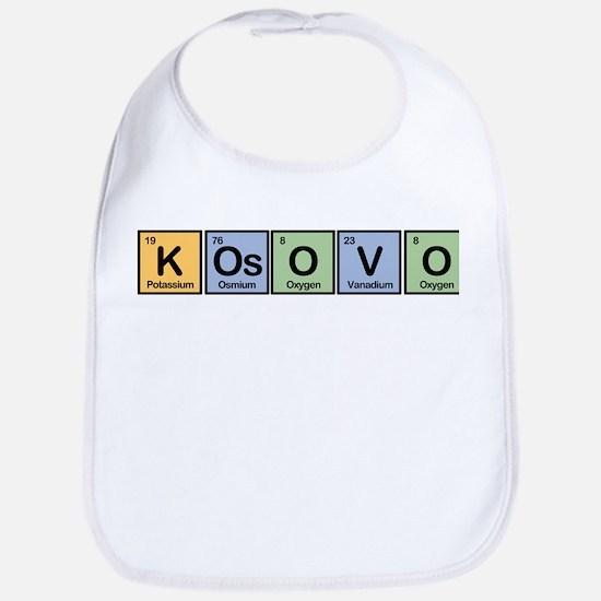 Kosovo made of Elements Bib