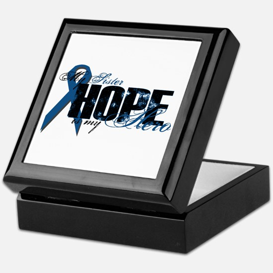 Sister My Hero - Colon Keepsake Box