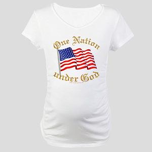 One Nation Under God Maternity T-Shirt