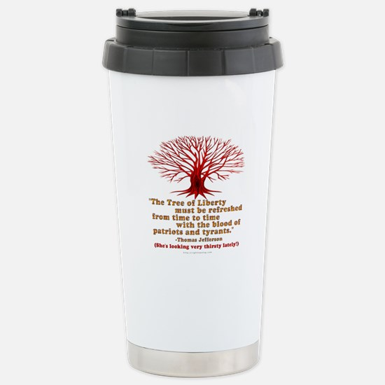Jefferson's Tree of Liberty Stainless Steel Travel