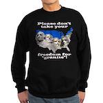 Precious Freedom Sweatshirt (dark)