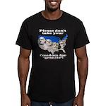 Precious Freedom Men's Fitted T-Shirt (dark)