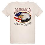 America - Love it Organic Kids T-Shirt