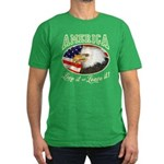 RETRO America- Love it ot Lea Men's Fitted T-Shirt